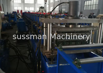 China GCR15 Roller Material Rack Rolling Machine , Shelf Cold Forming Machine With Cr12Mov supplier