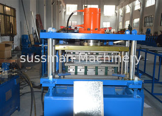 China GCr15 Steel Shelving Rack Roll Forming Machine 200-600mm Width Adjustable supplier