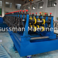 China Galvanized Steel / Black Steel Cable Tray Making Machine GCr15 Roller Quench supplier