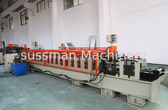 China Galvanized Steel Sheet Roll Forming Machine Chain Drive High Efficiency supplier