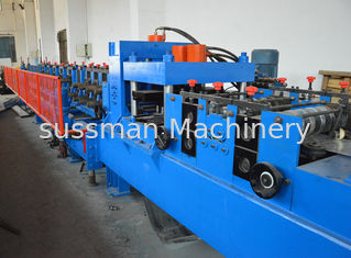 China 380V C Shape Purlin Roll Forming Machine With Automatic Punching Holes supplier