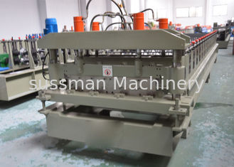 China YX25-200-1000 Automatic Roof Panel Roll Forming Machine / Glazed Tile Making Machine supplier