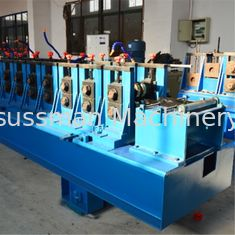 China Hydraulic Punching Cable Tray Roll Forming Machine , Rolling Form Machine Cr12mov supplier