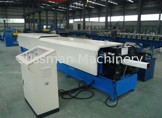 China 0.7-1.2mm Squre tube thickness Raispout pipe roll forming machine with elbow device supplier