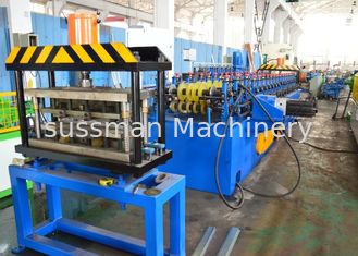 7.5KW Sussman Shelf Box Roll Forming Equipment 18 Steps 3-15 m / Min Speed