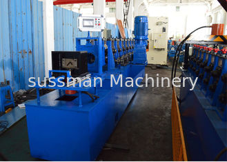 China Gcr15 Steel Roller Upright Angle Roll Forming Machine Chain Driven supplier