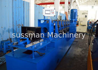 China Shop Warehouse Storage Upright Rack Rolling Machine For Heavy Duty Metal Steel supplier
