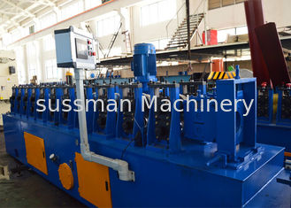 China 1.5-2.0mm Galvanized Steel Upright Angle Roll Forming Machine 5-10m / Min Speed supplier