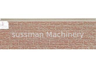 China Custom Size PU Sandwich Wall Panel Board Metal Cladding Soundproof Performance supplier
