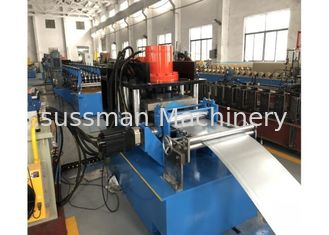 China Main Motor Power 22kw Guard Rails Roll Forming Machine Material Thickness 3-5mm supplier