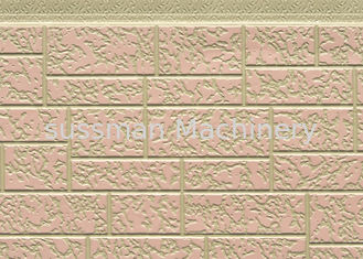 Customized Color Steel Polyurethane Foam Sandwich Panels For Exterior Wall