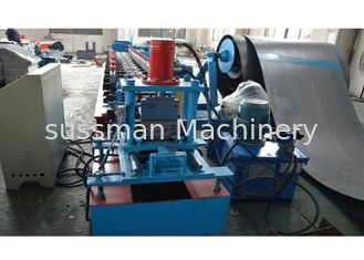 China Automatic Door Frame Roll Forming Machine With Plc Control , 1 Year Warranty Period supplier