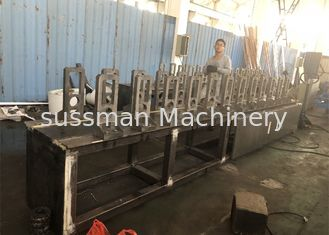 China Roof Steel Frame Drywall Making Machine , Roll Forming Equipment 12 Stations supplier