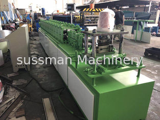 China Metal Chain Drive Shutter Door Roll Forming Machine 12 - 15m / Min Working Speed supplier