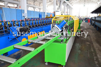 China 5.5 KW Main Motor Omega Stud And Track Roll Forming Machine With 13 Stations supplier
