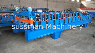 China 0-12 M / Min Rolling Speed Glazed Tile Roll Forming Machine Driven By 1.2 Inch Single Chain supplier