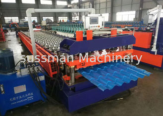 China Metal Roofing Sheet Rolling Former Machine , Cold Roll Forming Machine supplier