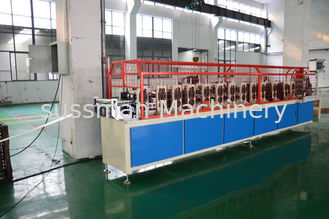 China 7.5 Kw Motor Power Stud And Track Roll Forming Machine Driven By Chain supplier