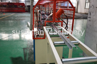 China 5.5 KW Roof Batten Stud And Track Roll Forming Machine Driven By One Inch Chain supplier