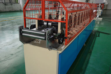 China 13 Stations Omega Stud And Track Roll Forming Machine About 5000 × 435 × 1000 Mm supplier