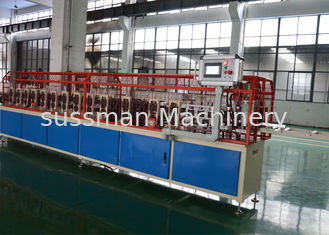 China Galvanized Stud And Track Roll Forming Equipment Metal Furring Ceiling Machine supplier