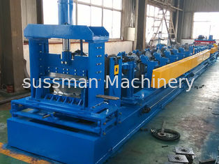 0.7 - 1.0mm Thickness Cable Tray Roll Forming Machine With 18.5 Kw Power