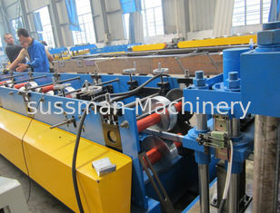 China 20 Stations C Purlin Forming Machine With 11kw Principal Electric Motor supplier