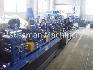 China 1.5-3.0mm Thickness CZ Purlin Roll Forming Machine With 15 T Gross Weight supplier
