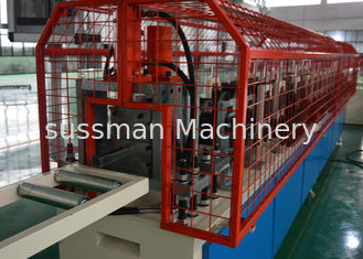 China Red Metal Framing Machine For Wall Protection / Drywall Studs Track Machine supplier