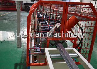China Galvanized Metal Top Hat Roof Channel Roll Forming Machine supplier