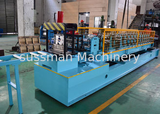 China Mild Steel CZ Purlin Roll Forming Machine , C Lipped Channel Roll Forming Machine supplier