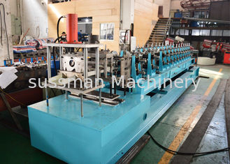 China C Section Frame Roof Purlins Sheet Rolling Machine For 80 To 300mm High Strength Galvanized Steel supplier