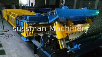 China Steel Silo Corrugated Side Panel Roll Forming Machine Arch Style Building Machine supplier