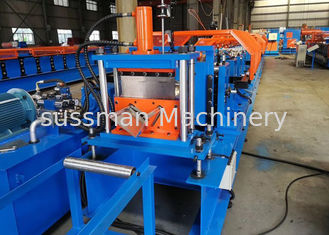 China Container House Corner Post Stud And Track Roll Forming Machine 2.0-4.0mm GCr15 Steel supplier