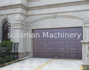 China Automatic Steel Garage Door Electric Operate Type With Remote Control supplier
