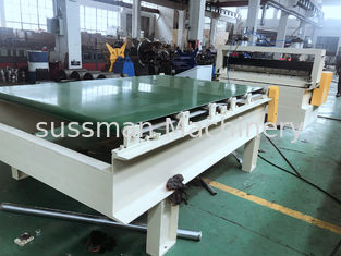 China Hydraulic Automatic Cutting To Length Machine For 0.5-1.5mm Galvanized Steel supplier
