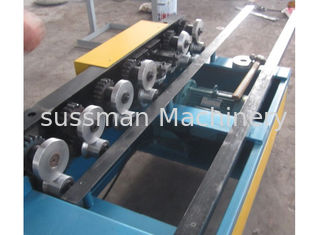 China Galvanized PPGI 6 Steps One Side Lock Roof Panel Roll Forming Machine With Chain Driven supplier