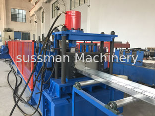 China 4-5 Meters / Min Cable Tray Roll Forming Machine Hydraulic Cutting Cr12mov supplier