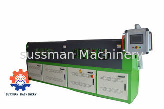 China 14 Steps Shutter Door Roll Forming Machine , Metal Forming Equipment PLC Control supplier