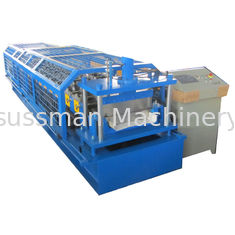 China Standing Seam Metal Roof Panel Machine / Self Lock Roof Sheet Roll Forming Machine supplier