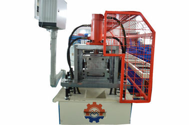 0.5-1.0mm Thickness Steel Profile Drywall Wall Angle Roll Forming Machine With Hydraulic Punching PLC Control