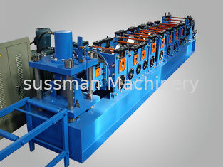 China High Speed  Automatic 20m/min Wall Angle Roll Forming Equipment With Follow Cutting supplier