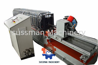 China Aluminium Shutter Door Roll Forming Machine With Servo Following Cutting supplier