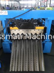 China 440V 60HZ Customized Deck Floor Roll Forming Machine All - Round Service supplier