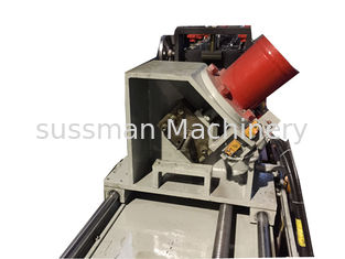 China PPGI Window Curtain Rail Shutter Door Roll Forming Machine With Hydraulic Cutting supplier