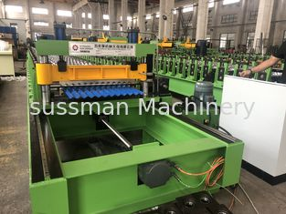 China Fast Roof Panel Roll Forming Machine , Mini Corrugated Panel Roll Forming Machine supplier