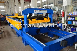 China Color Coated Colis Roof Panel Roll Forming Machine , IBR Sheet Roll Forming Machine supplier