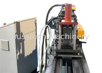 China 0.5-1.5mm Galvanized Steel Stud And Track Roll Forming Machine With Following Cutting supplier