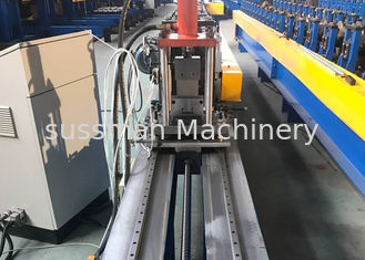 China Drywall Stud And Track Roll Forming Machine / Steel Drywall CD UD Profile Making Machine supplier