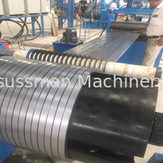 China Automatic Metal Material Folding Slitting Line Machine For 1-5mm Galvanized Steel supplier